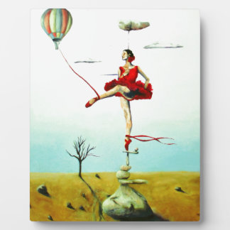 You Raise Me Up Print with Easel Plaque