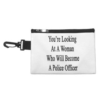 You re Looking At A Woman Who Will Become A Police Accessories Bag