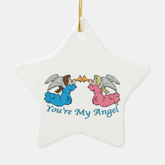 You re My Angel Christmas Ornament