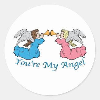 You re My Angel Sticker