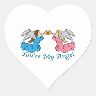 You re My Angel Heart Sticker