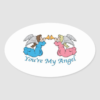You re My Angel Stickers