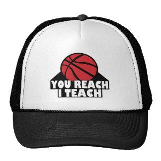 YOU REACH I TEACH CAP TRUCKER HAT