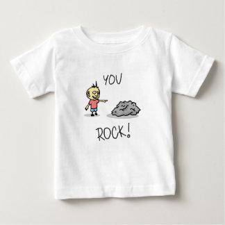 You Rock! Cartoon. Baby T-Shirt