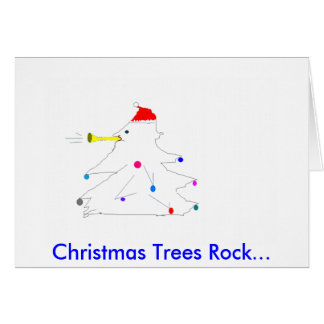 You Rock Christmas Notecards Card