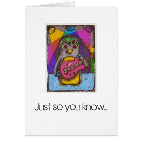 You Rock Greeting Card