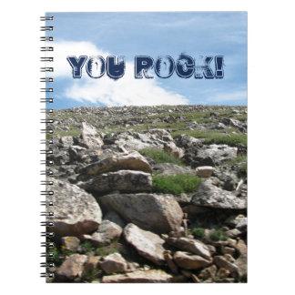You Rock- notebook