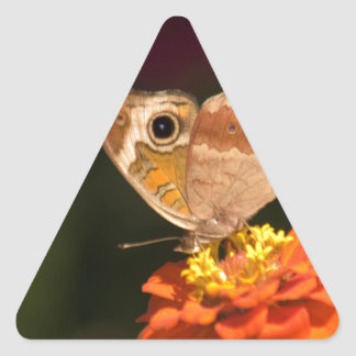 you satisfy the desires of every living thing triangle sticker