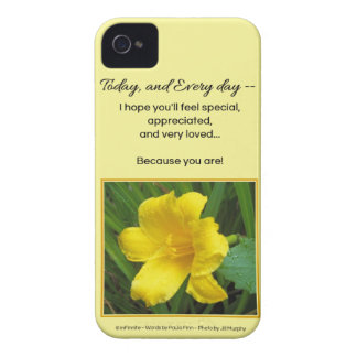 You should feel special... iPhone 4 case