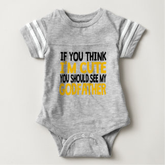 You Should See My Godfather Baby Bodysuit