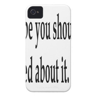 You Should've Prayed iPhone 4 Case-Mate Case