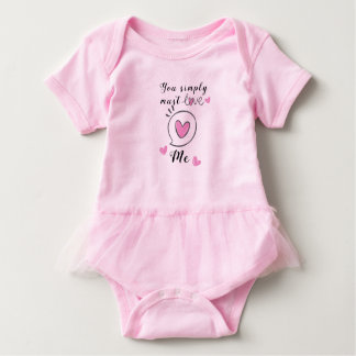 You simply must love this baby baby bodysuit