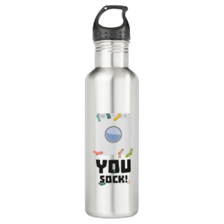 You Sock Funny Slogan Zwq53 710 Ml Water Bottle