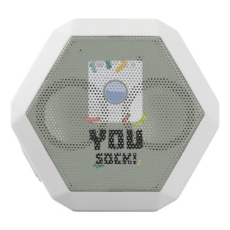You Sock Funny Slogan Zwq53 White Bluetooth Speaker