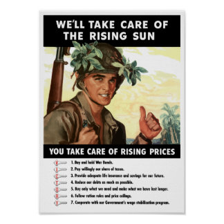 You Take Care Of Rising Prices -- WWII Poster