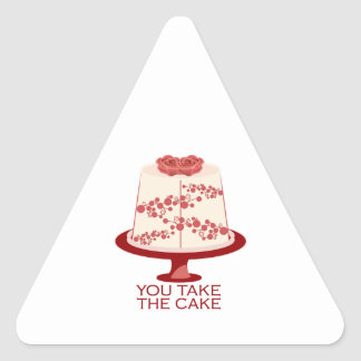 You Take The Cake Stickers