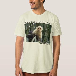 You talking to me?  Capuchin monkey T-Shirt
