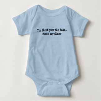 You think your the Boss Baby Bodysuit