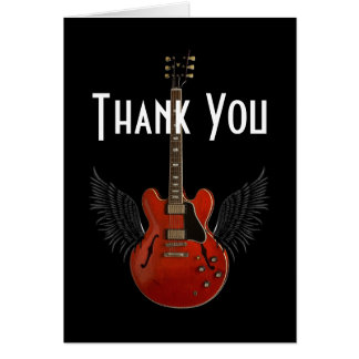 You Totally Rock! Thank You Card
