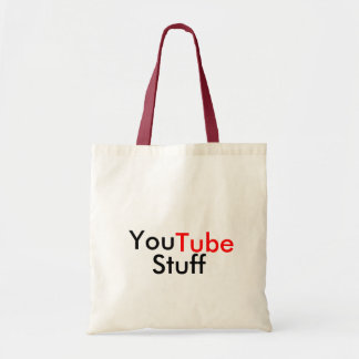 You Tube Stuff Tote Bag