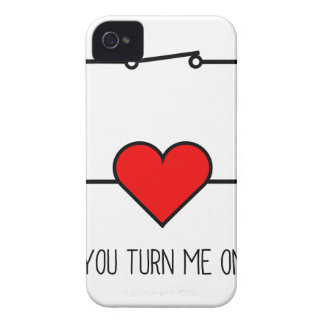 You Turn Me On iPhone 4 Case-Mate Cases