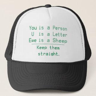 YOU U EWE TRUCKER HAT