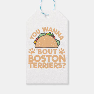 You Wanna Taco Bout Boston Terriers? Gift Tags