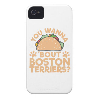 You Wanna Taco Bout Boston Terriers? iPhone 4 Cover