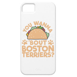 You Wanna Taco Bout Boston Terriers? iPhone 5 Covers