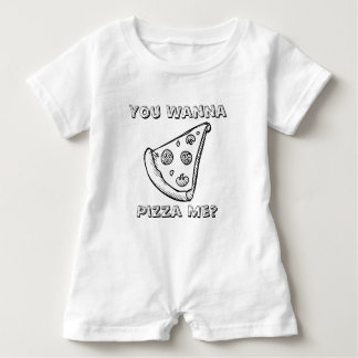 You Want a Pizza Me - Food Pun Baby Romper