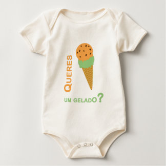 You want an icecream baby bodysuit
