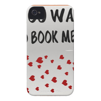 You want to book me? Case-Mate iPhone 4 case