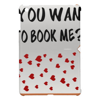 You want to book me? cover for the iPad mini
