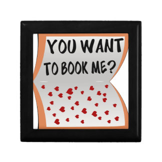 You want to book me? gift box