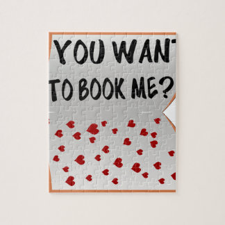 You want to book me? jigsaw puzzle