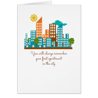 Congratulations new apartment cards congratulations new for Gifts for first apartment