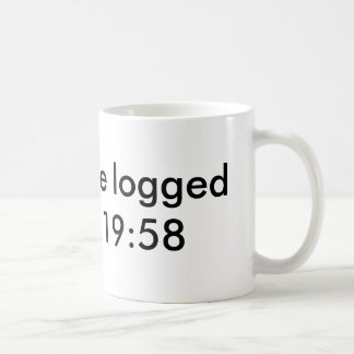 You will be logged out in   19:58 coffee mug