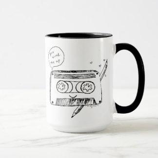 You Wind Me Up Retro Humor Cassette Tape Mug