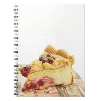 yougyrt pistashio cake spiral notebook
