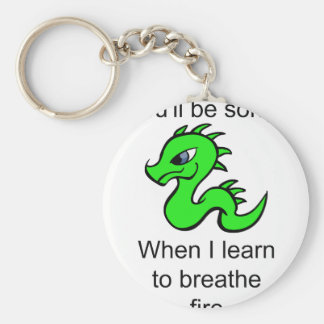 Youll be sorry - baby dragon keychain