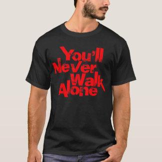 you'll never walk alone shirts black