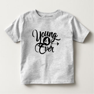 young 4ever birthday tee