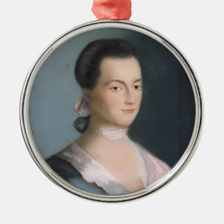 Young Abigail Adams Portrait Ornament