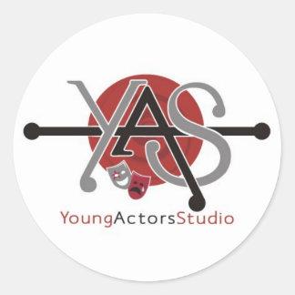 Young Actors Studio Stickers