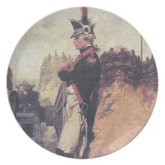 Young Alexander Hamilton plate