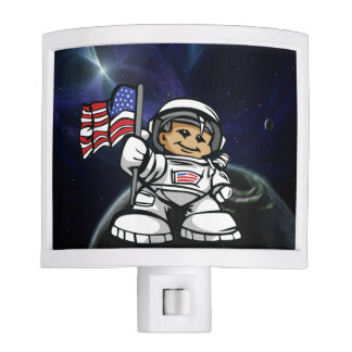 Young Astronaut in space Nite Lite