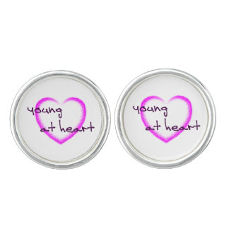 Young at heart cufflinks