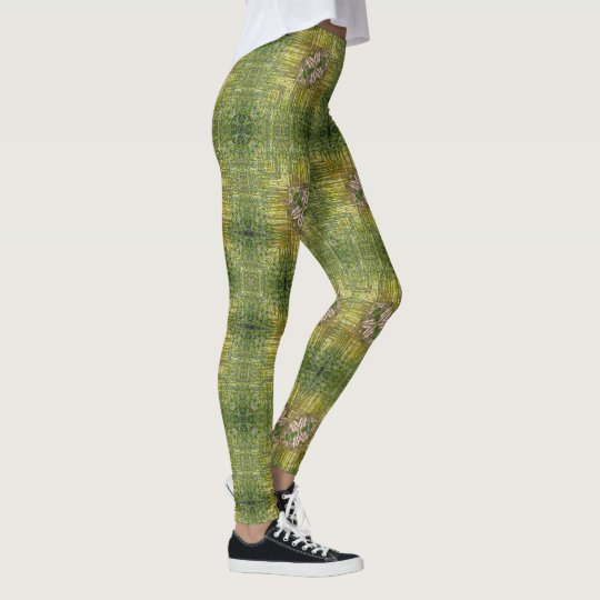 Young Bamboo Geometric Leggings