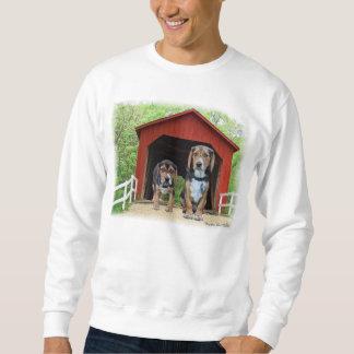 Young Beagles Sandy Creek Covered Bridge Dog House Sweatshirt