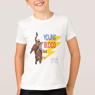 YOUNG BLOOD Bull Riding Boy T-Shirt